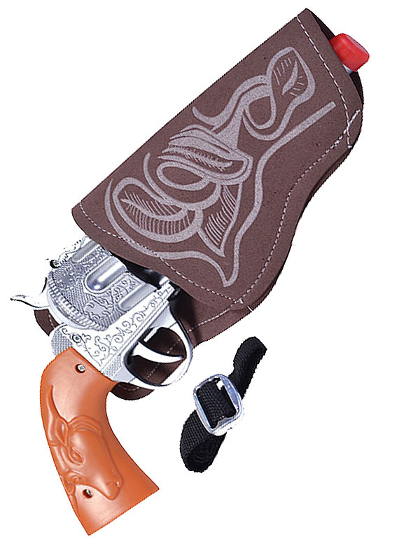 Cowboy Gun (Single) + Holster