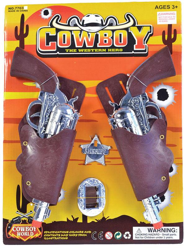 Cowboy Holster Gun Set Child
