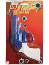 Cap Gun 8 Shot Blue