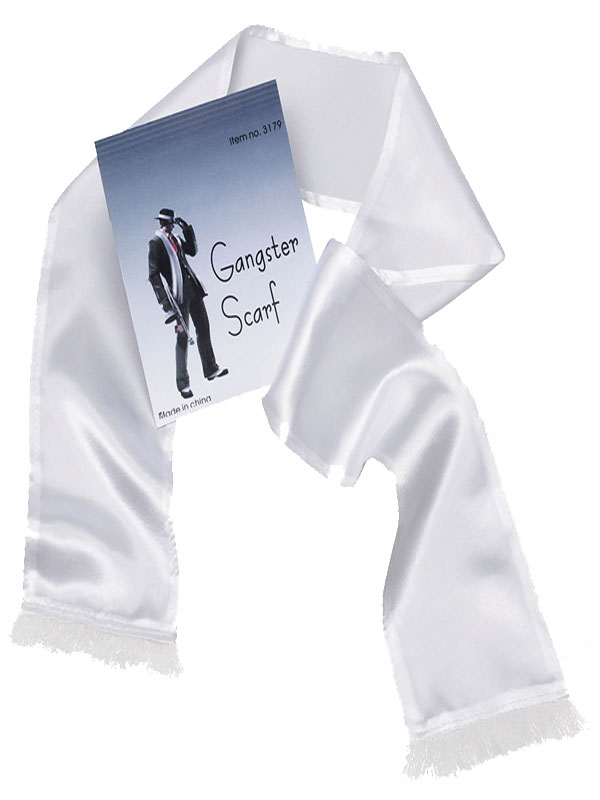Gangster Scarf White