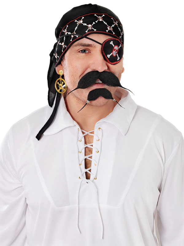Adult Pirate Bandana Deluxe