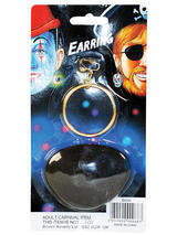 Pirate Ear Ring & Eyepatch