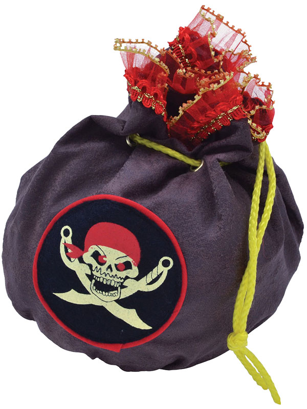 Pirate Drawstring Bag