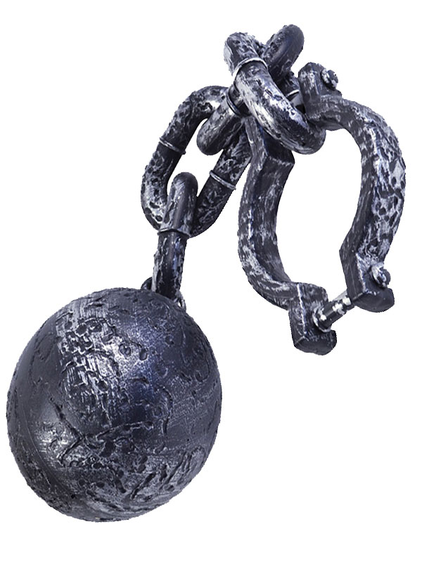 Ball & Chain Giant Grey