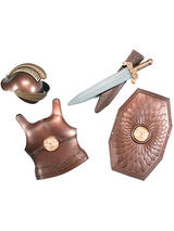 Child Boys Roman Armour Weapon Set