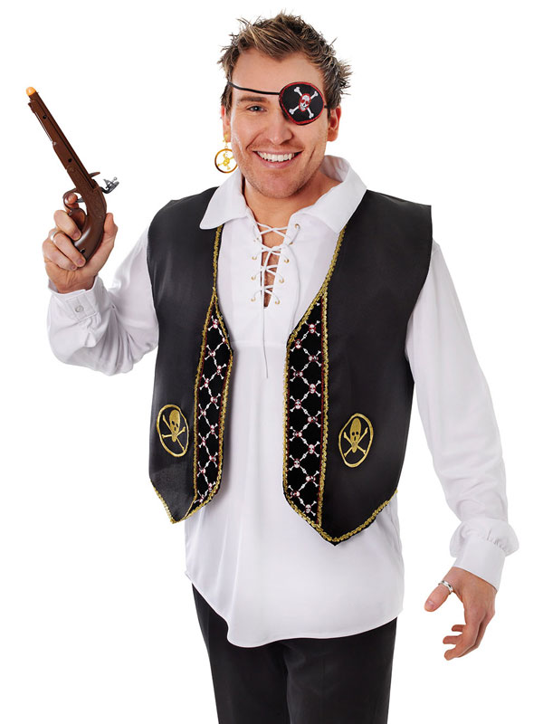 Pirate Waistcoat Deluxe