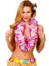 Large Two Tone Petal Lei (Purple)