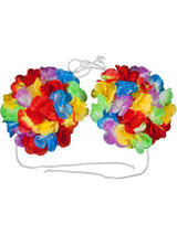 Hawaiian Shell Flower Bra (Large)