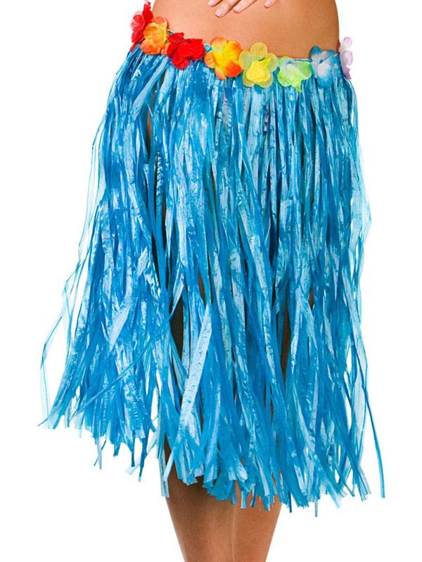Hula Skirt (Blue)