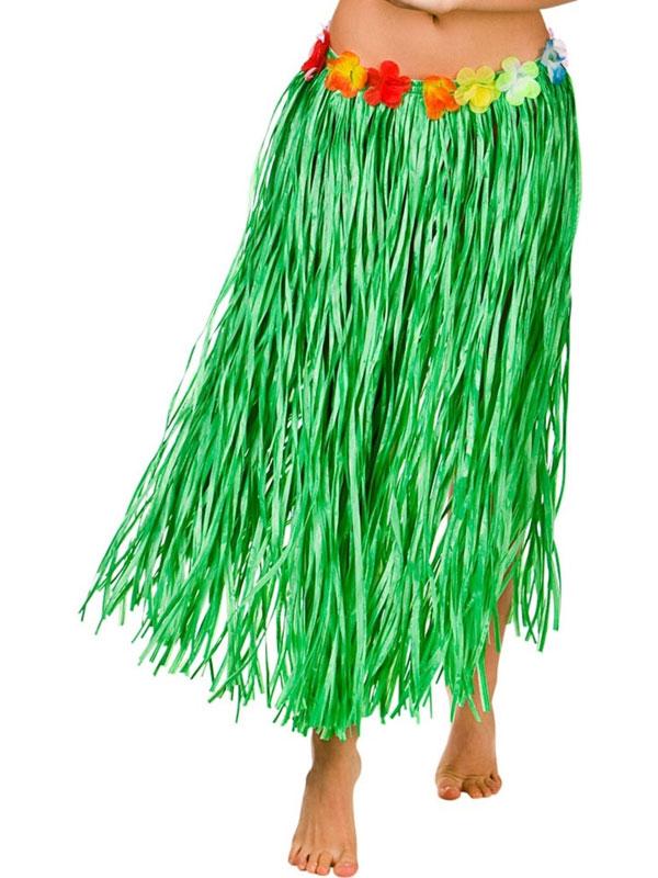 80cm Hawaiian Hula Green Grass Skirt Fancy Dress