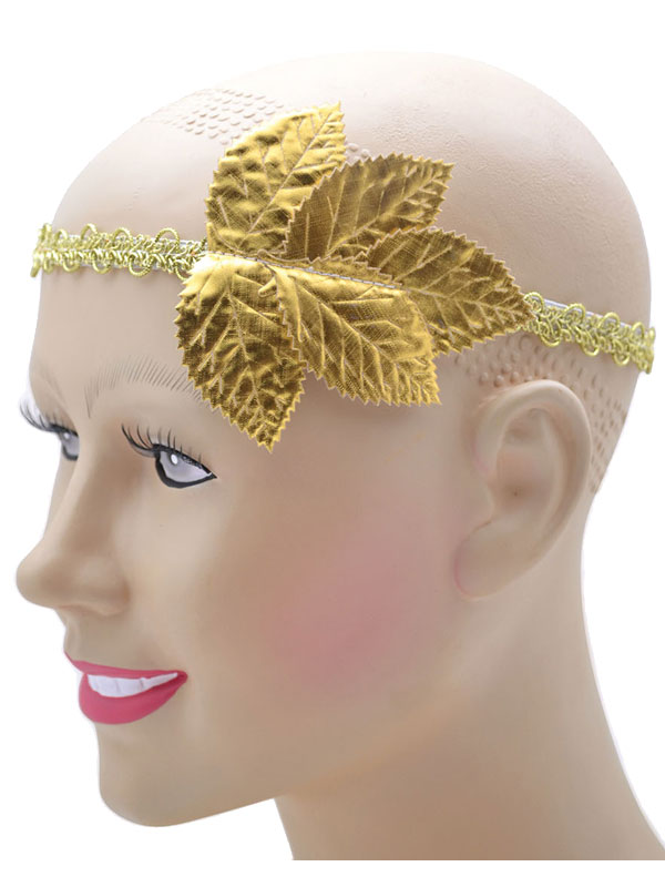 Gold Leaf Headband
