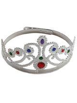 Queen's Crown Royal Fancy Dress New Ladies Kids Girls Plastic Christmas Jubilee
