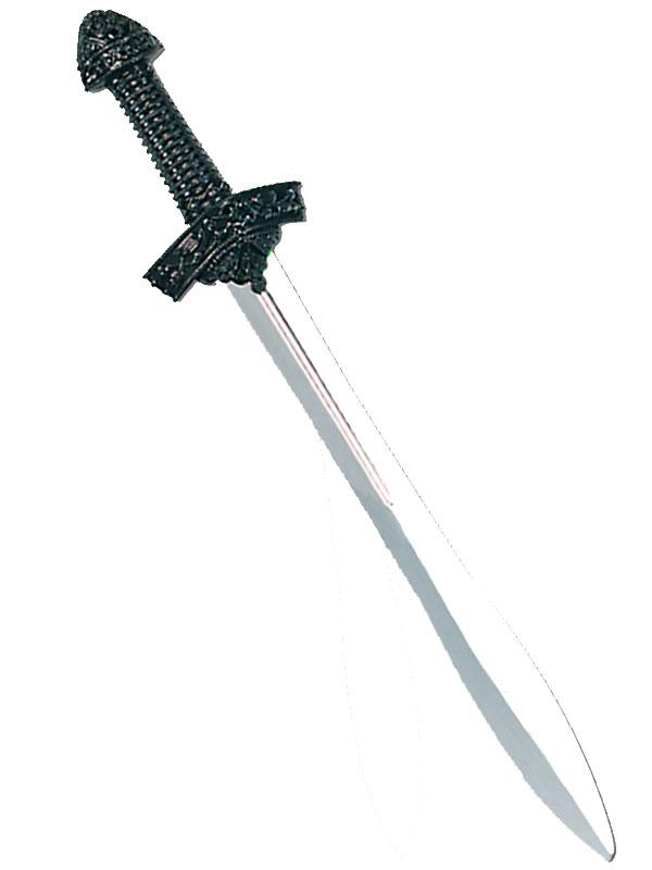 Silver Blade Black Knight Sword
