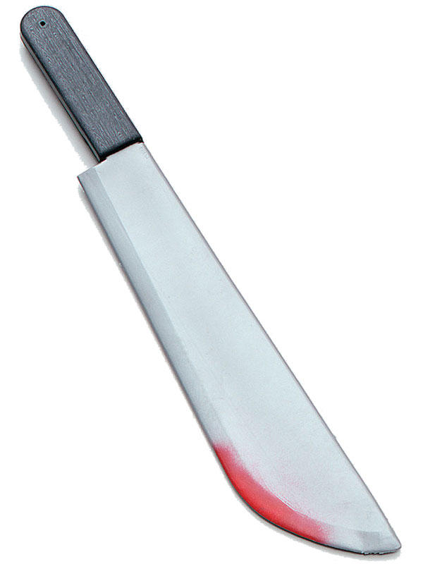Machete Large + Blood Splatters