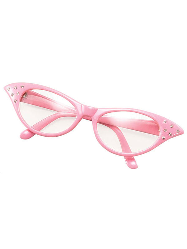 Female Style Pink Glasses