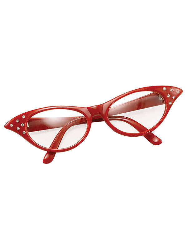 Female Style Red Glasses