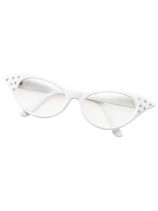 Female Style White Glasses