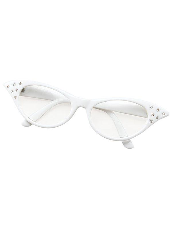 Female Style White Glasses