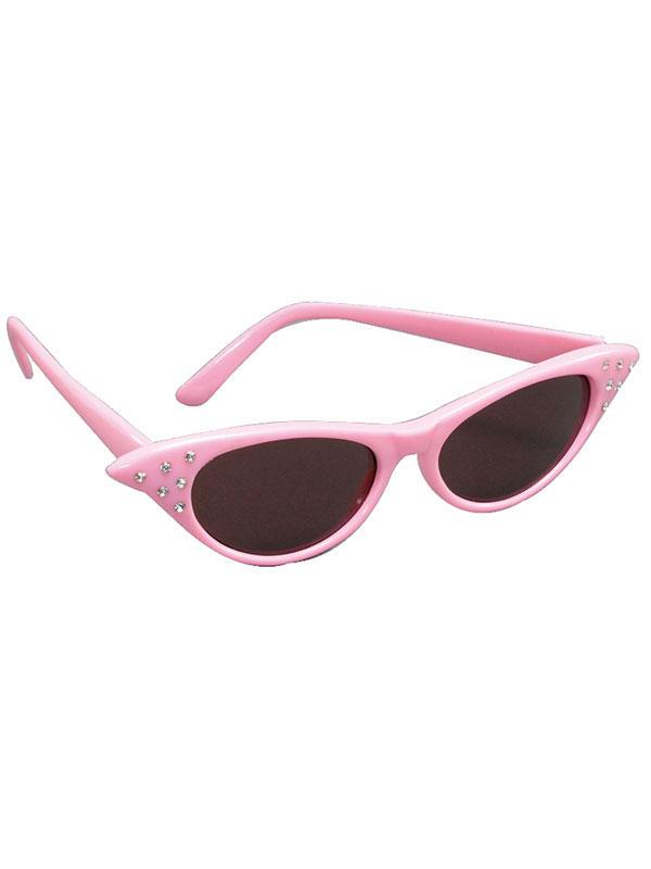Sun Dark Lens Pink Glasses