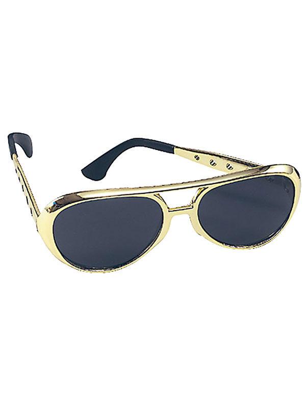Elvis Sun Gold Glasses