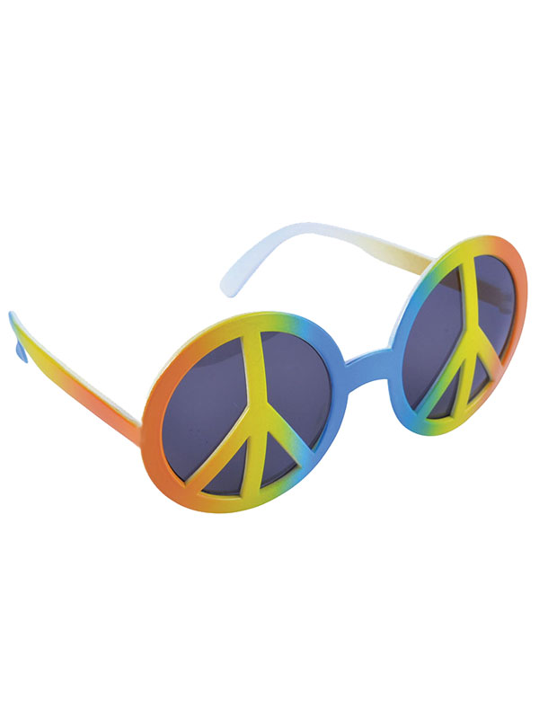 Rainbow Peace Glasses