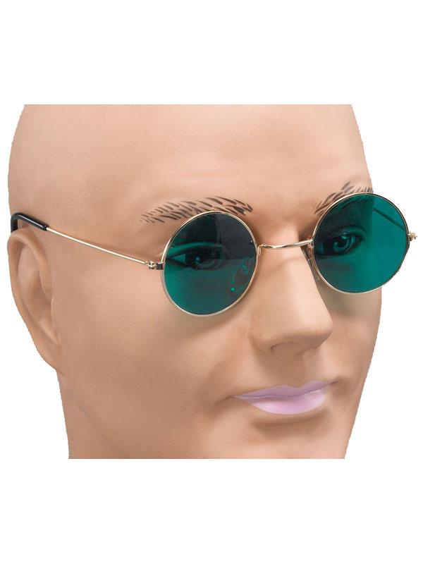 John Lennon Green Lens Glasses