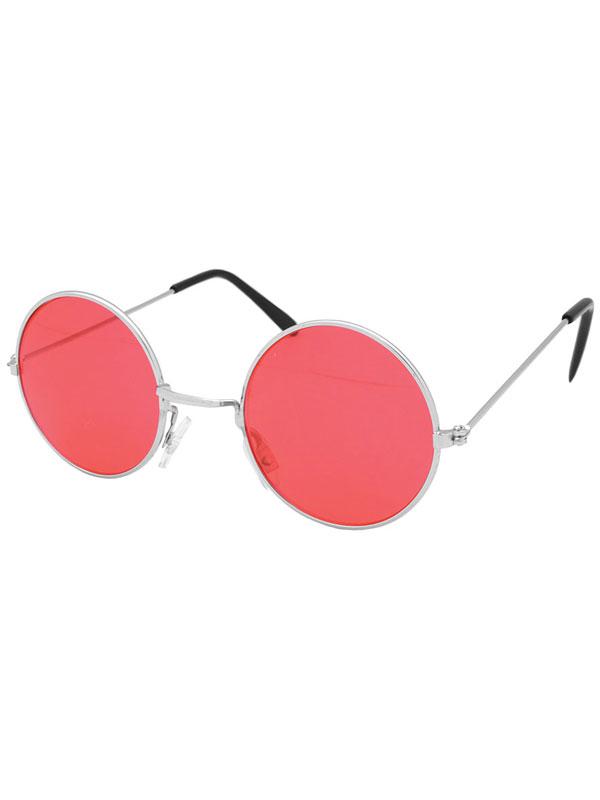 Lennon Red Glasses