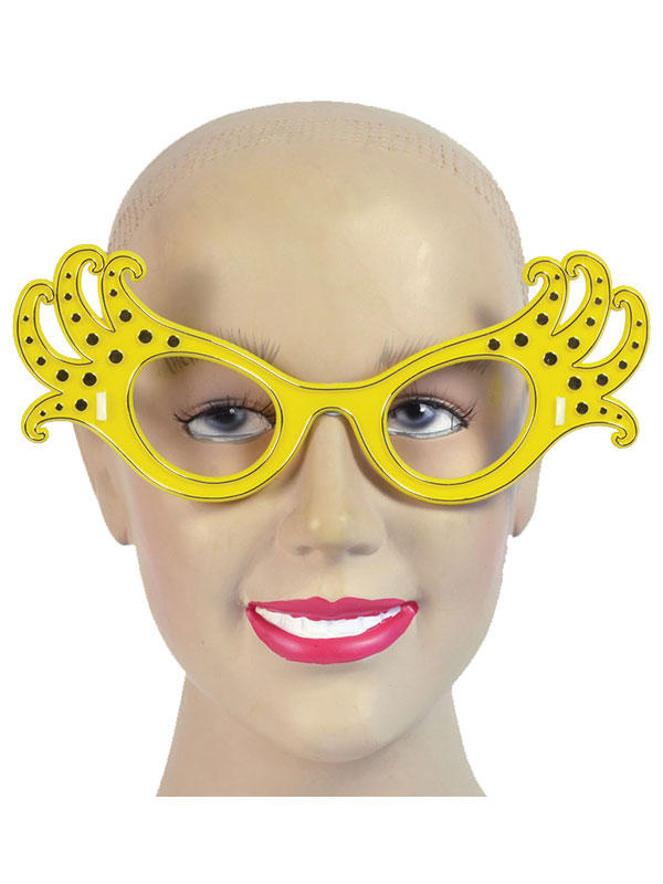 Ladies Dame Edna Glasses Thumbnail 3