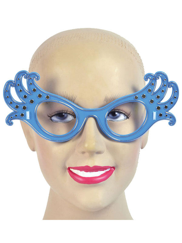 Ladies Dame Edna Glasses Thumbnail 2