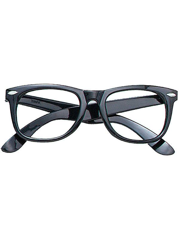 Spectacles Black Frame Glasses