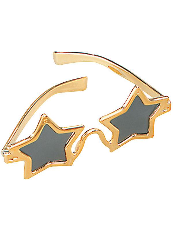 Star Gold Glasses