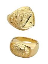 Gold Sovereign Style Ring