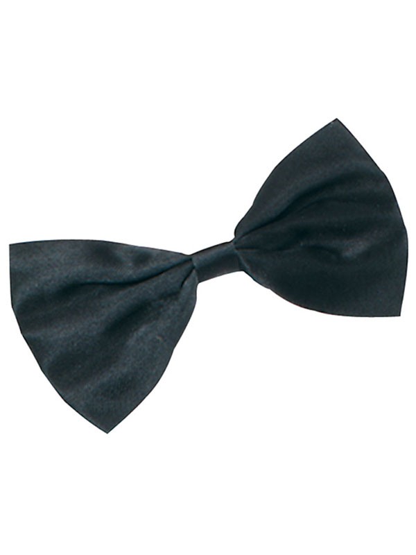 Mens Bow Tie Small Black Budget