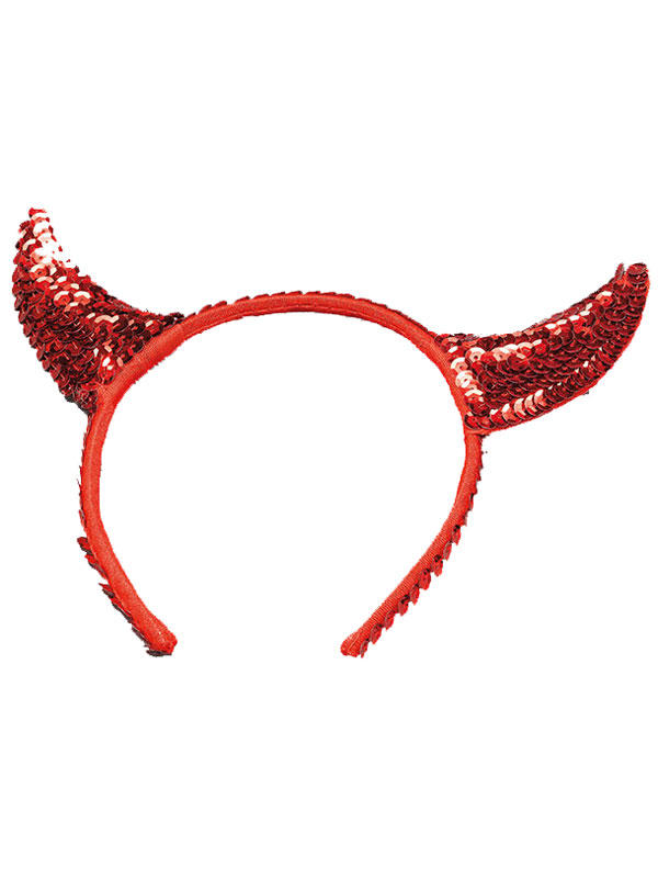 Devil Horns Sequin Small