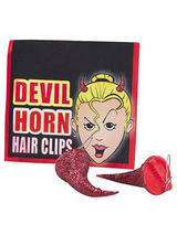 Devil Horn Hair Clips