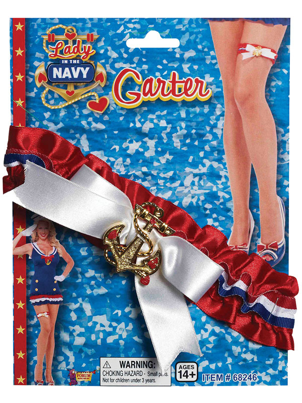Lady In Navy Garter