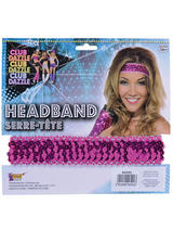 Sequin Headband Pink
