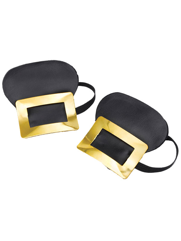 Shoe Buckles Gold Bangle