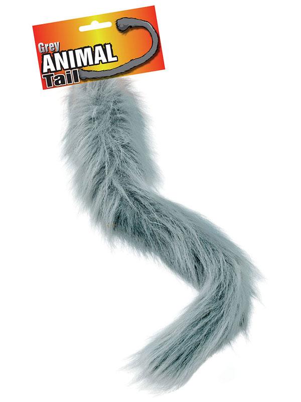 Animal Tail Grey
