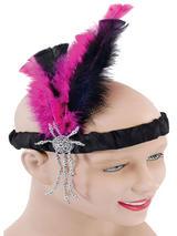 Flapper Headband Pink