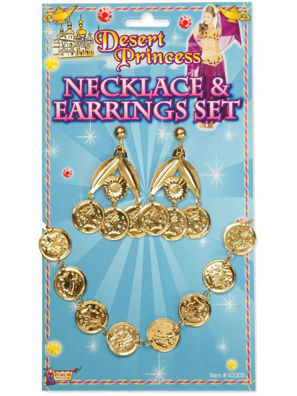 Desert Princess Coin Necklace Set