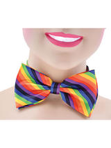 Bow Tie Rainbow Coloured