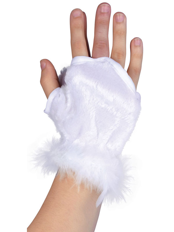 Animal Glovelets White