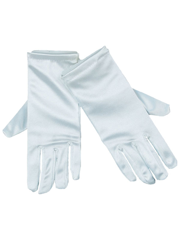 Gloves Satin White