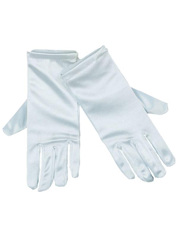 Gloves Satin White