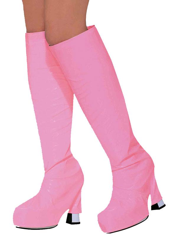 Go Go Boot Tops Pink