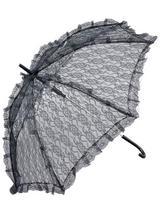 Parasol Black Lace