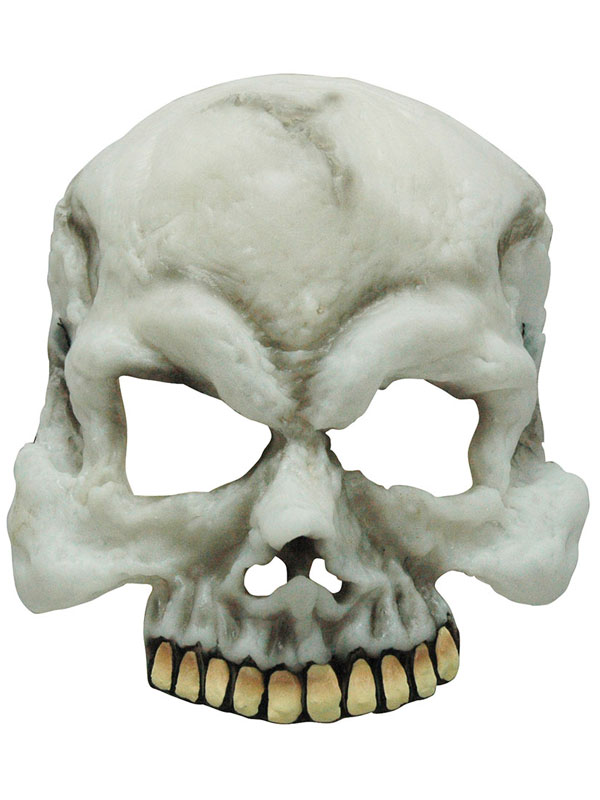 Adult Skull Gid Half Mask