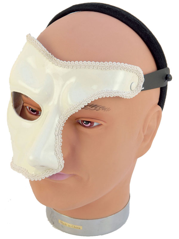 Adult Masquerade Phantom (H B) Mask
