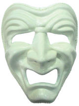 Adult Sad Face Theatre Mask (H B)